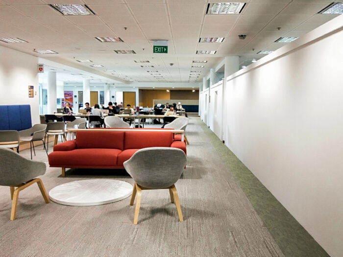 commercial interior design singapore_SMU