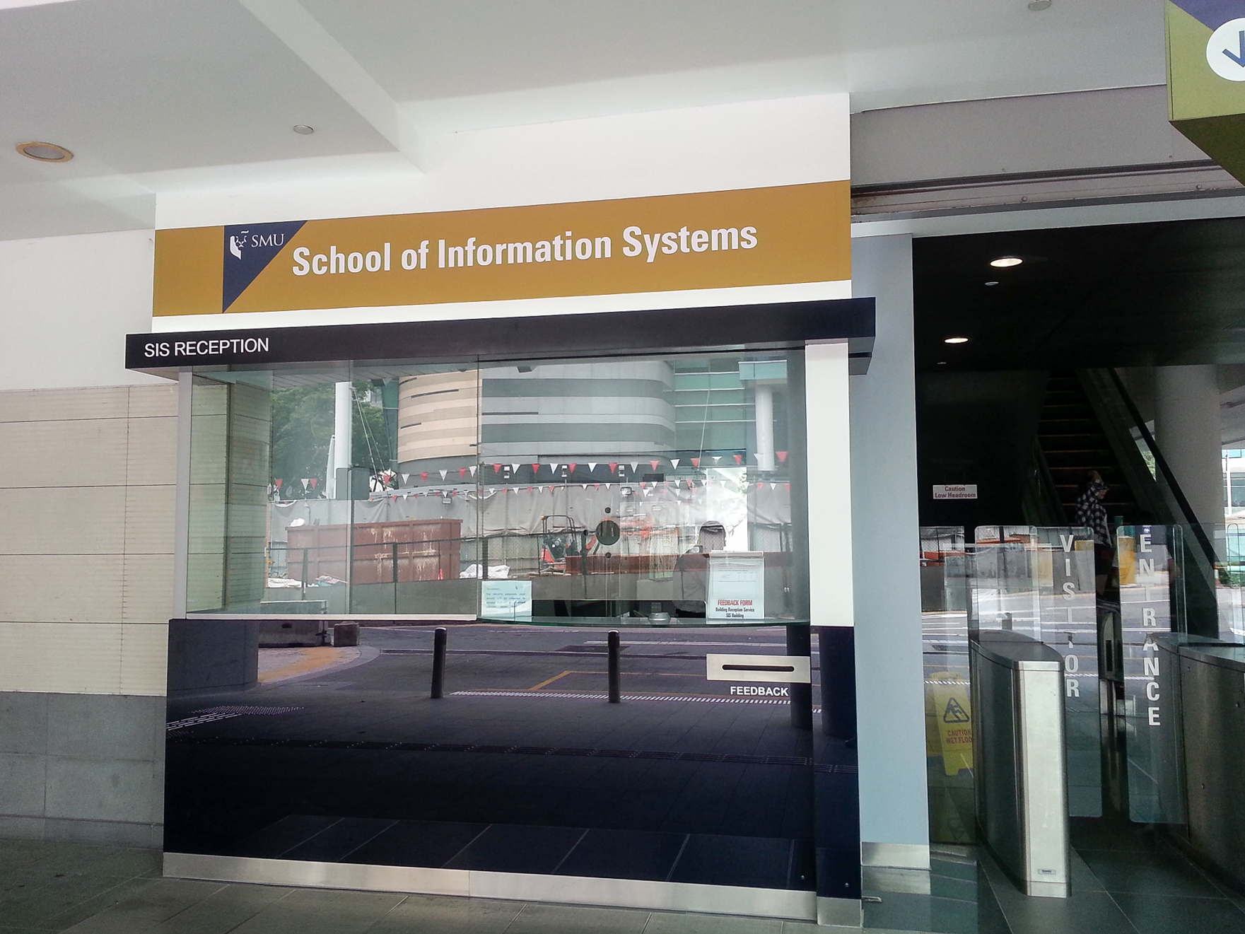 School of Information Systems - SIS RECEPTION
