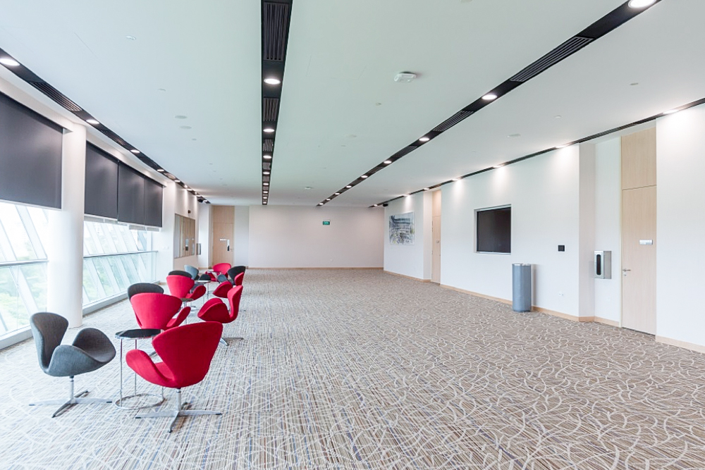 Temasek Polytechnic – Executive Boardroom & Lounge