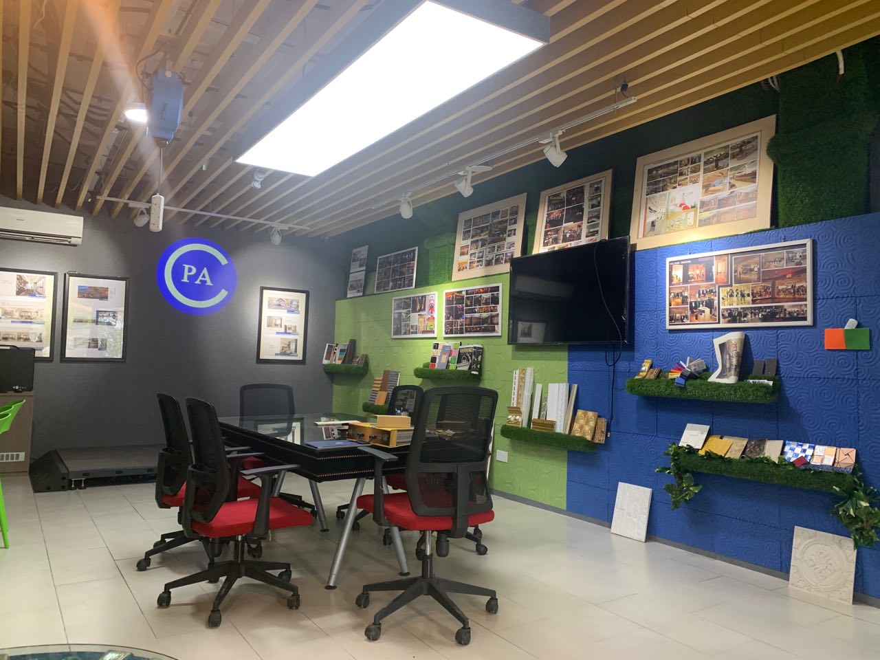 Commercial Interior Design and build company based in Singapore