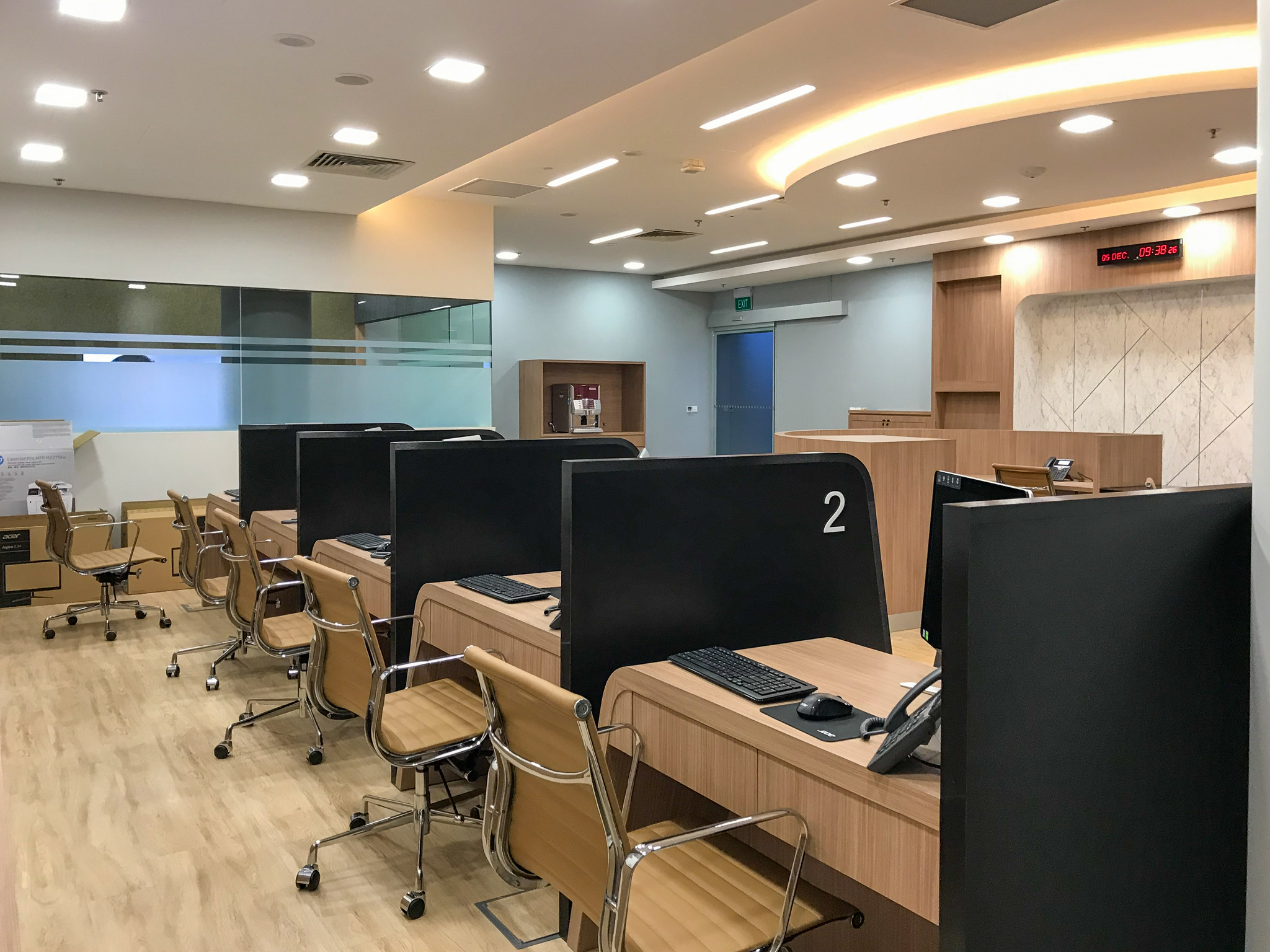 Commercial interior design and build