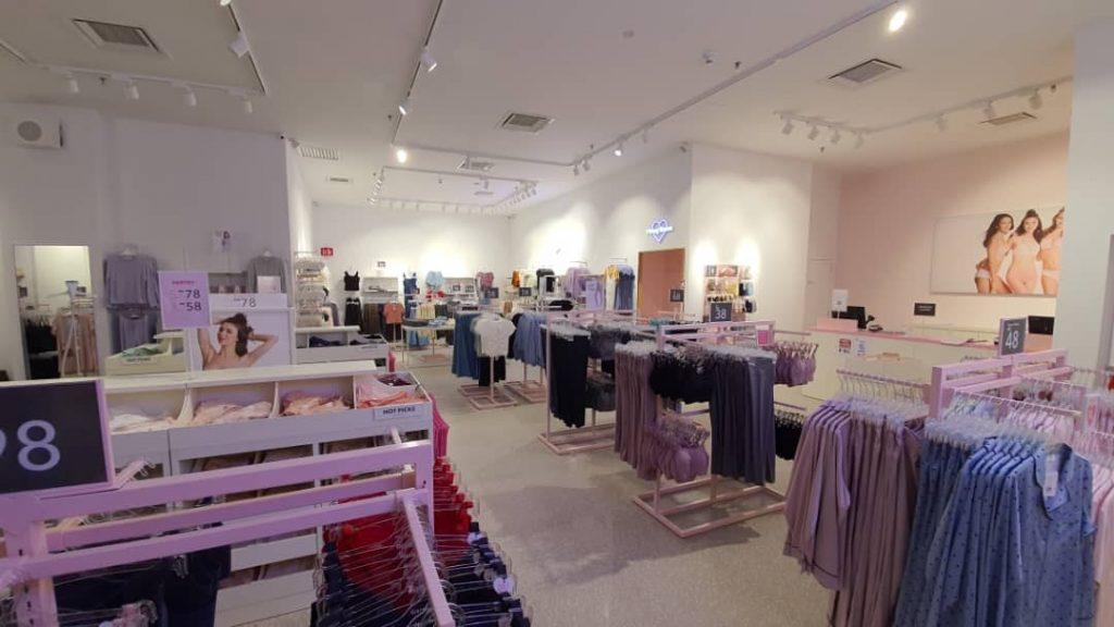 commercial interior design_6ixty 8ight retail